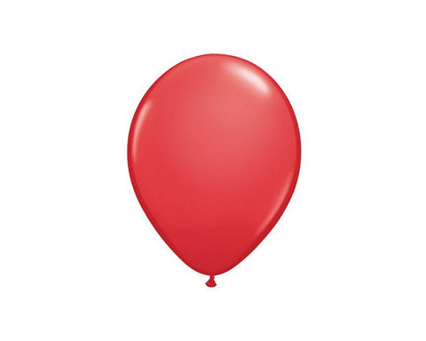 Latex Balloons - Red Latex Balloons - 11 Inch