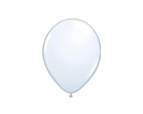Latex Balloons - White Latex Balloons - 11 Inch