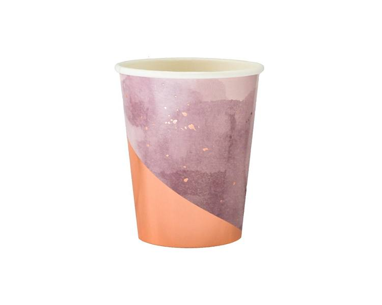 Paper Cups - Amethyst Light Purple Paper Cups