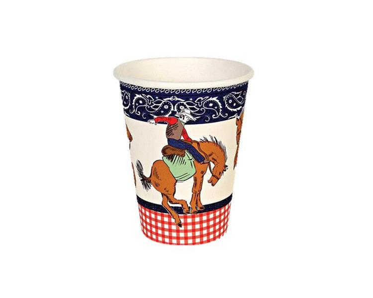 Paper Cups - Howdy Cowboy Paper Cups