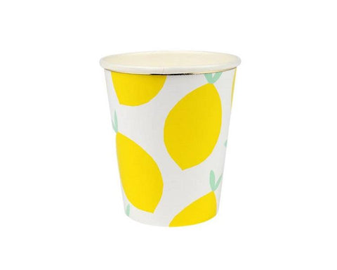 Paper Cups - Lemon Paper Cups