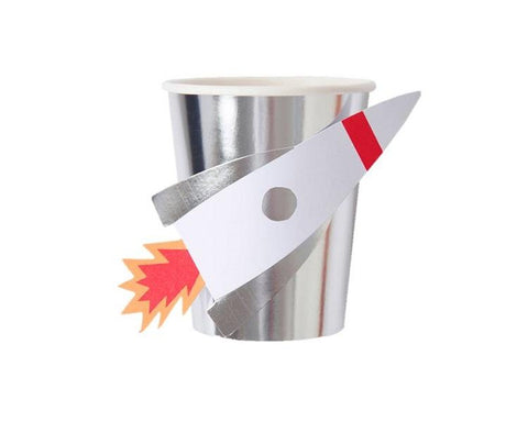 Paper Cups - Space Rocket Paper Cups