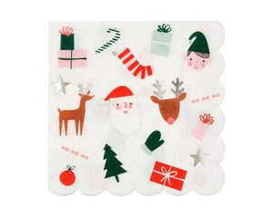 Paper Napkins - Christmas Fun Large Paper Napkins