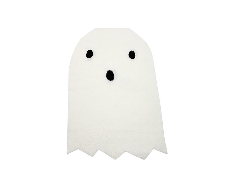 Paper Napkins - Ghost Large Napkins, Die Cut
