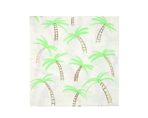 Paper Napkins - Palm Trees Large Paper Napkins