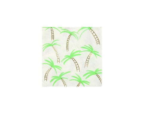 Paper Napkins - Palm Trees Small Paper Napkins