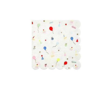 Paper Napkins - Party Icons Paper Napkins, Small