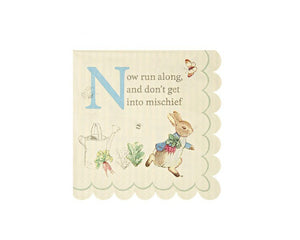 Paper Napkins - Peter Rabbit Small Paper Napkins, 20 Pcs