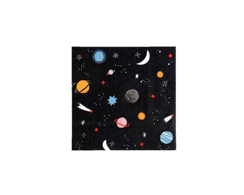 Paper Napkins - Space Small Paper Napkins