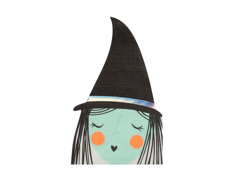 Paper Napkins - Spooky Witch Halloween Napkins