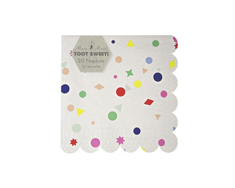 Paper Napkins - Toot Sweet Charms Small Paper Napkins, 20 Pcs