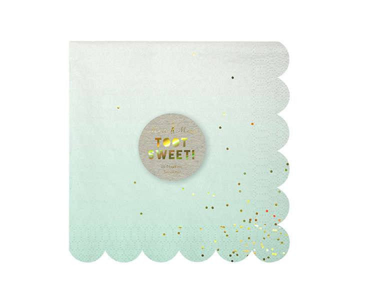 Paper Napkins - Toot Sweet Ombre Large Paper Napkins