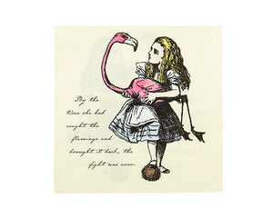 Paper Napkins - Truly Alice In Wonderland Large Paper Napkins