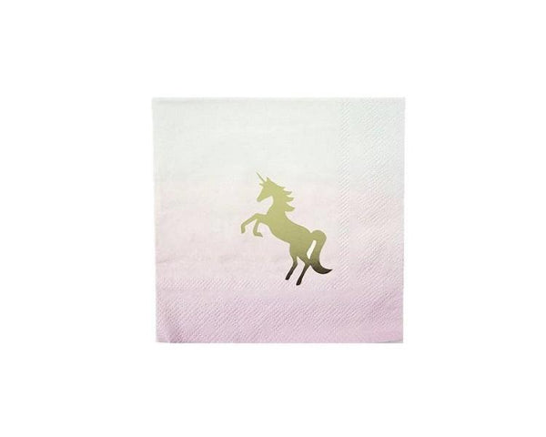 Paper Napkins - We Heart Unicorns Paper Napkins, Small