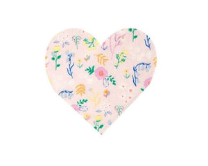 Paper Napkins - Wildflower Heart Paper Napkins, Small