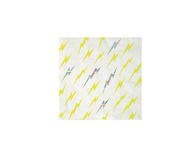 Paper Napkins - Zap! Super Hero Paper Napkins, Small