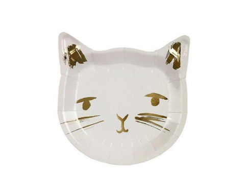 Paper Plates And Bowls - Cat Plate