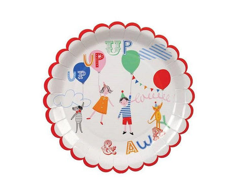 Paper Plates And Bowls - Childrens Paper Plates, Large