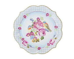 Paper Plates And Bowls - Truly Scrumptious Serving Paper Plates, Large