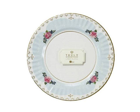 Paper Plates And Bowls - Truly Scrumptious Tea Party Paper Plates, Large