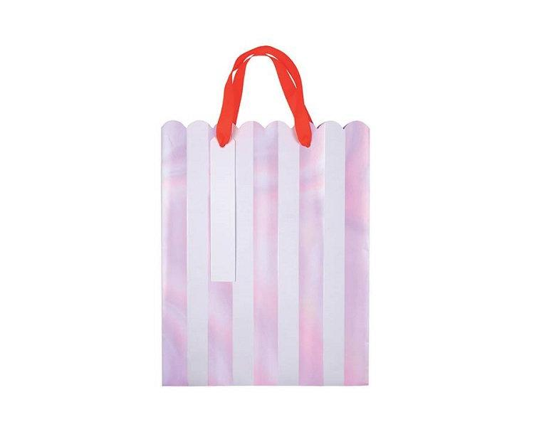 Party Favor Bags - Iridescent Stripe Party Favor Bags