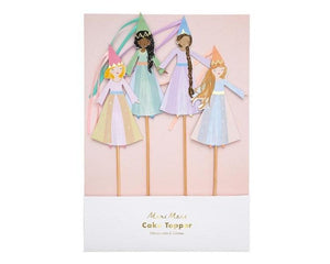 Party Favor Bags - Magical Princess Cake Toppers