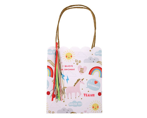 Party Favor Bags - Rainbows And Unicorns Party Favor Bags