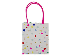 Party Favor Bags - Toot Sweet Charms Party Favor Bags, 8 Pcs