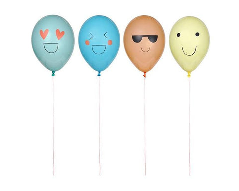 Party Favors - Emoji Balloon Kit Party Favors