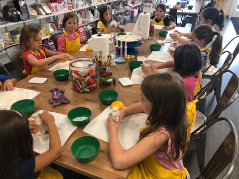 Pottery Painting Parties - PAINT YOUR OWN POTTERY PARTY DEPOSIT