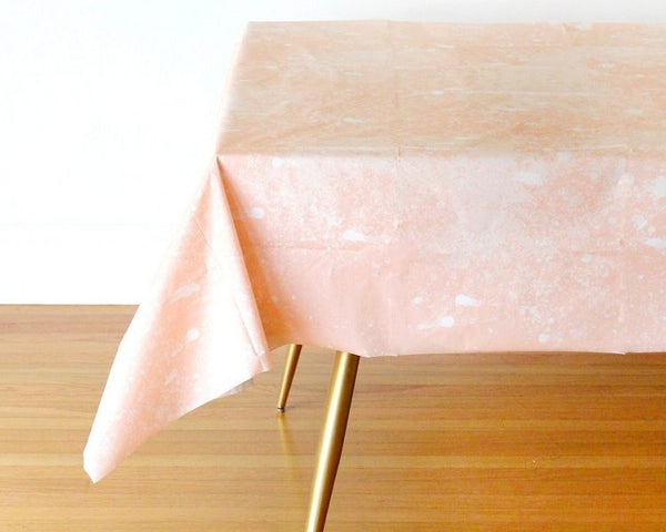 Tablecloth - Goddess Blush Whirlwind Table Cover