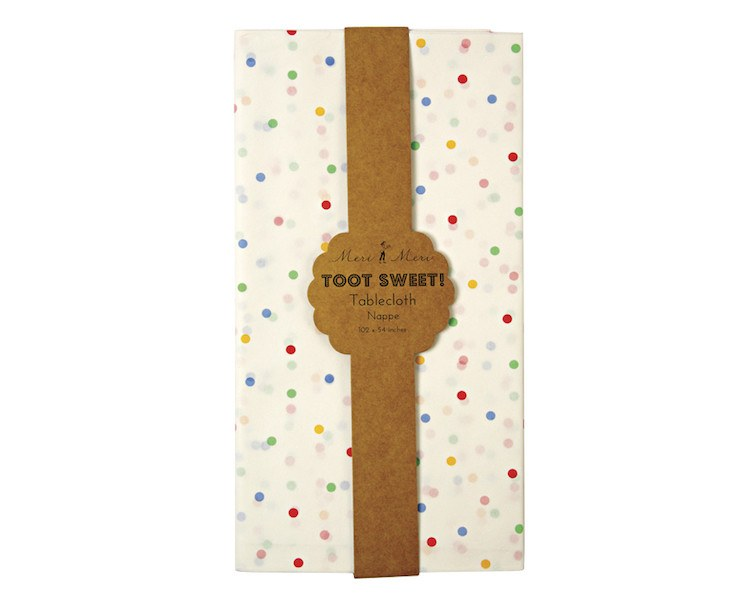 Tablecloth - Toot Sweet Spotty Tablecloth, 1 Pc