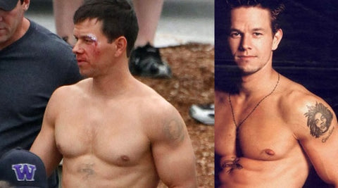 Famous male celebrity tattoos removed