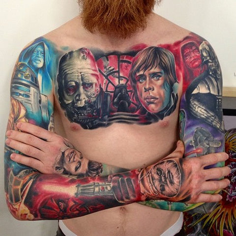 65 Star Wars Tattoos You Have To See To Believe Temporary Tattoo