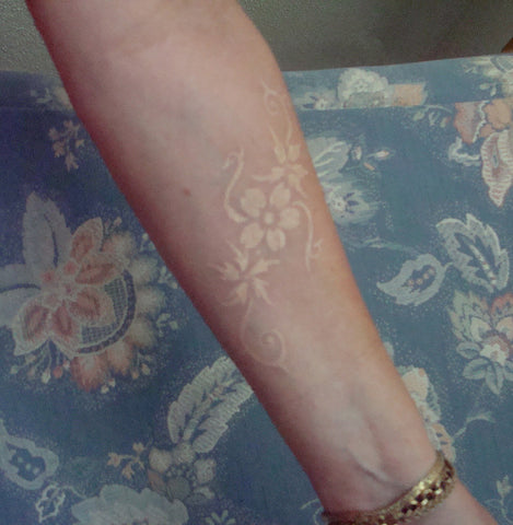 40 must see white ink tattoos temporary tattoo blog white ink flower tattoo mightylinksfo