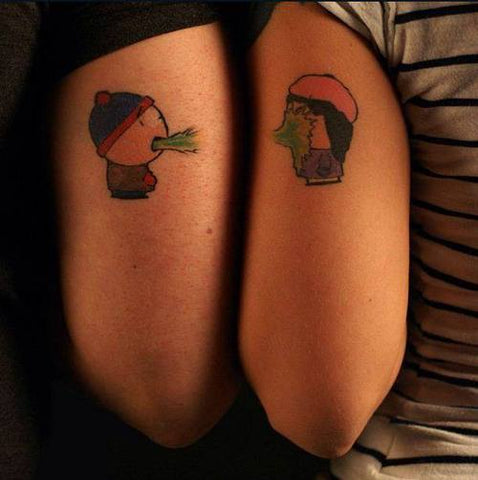 couple south park tattoo