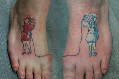 Tatouage pourr un couple