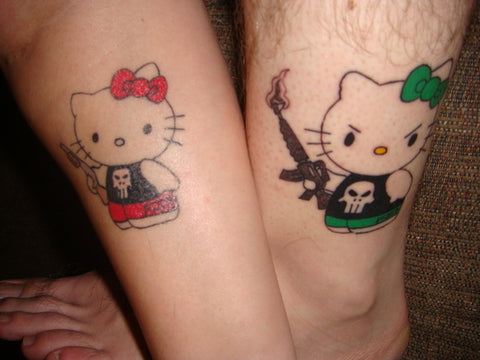Couple tattoos Musti