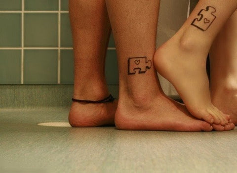 Couple tattoos Puzzle