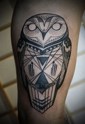 25 Awesome Geometric Animal Tattoos Temporary Tattoo Blog