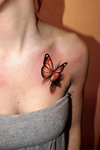 52acbc89c 15 Amazingly Beautiful Butterfly Tattoos | Temporary Tattoo Blog