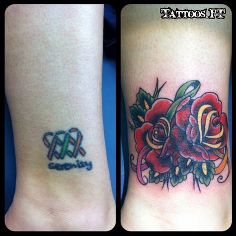 10 Amazing Wrist Tattoo Cover Ups Before After Temporary Tattoo