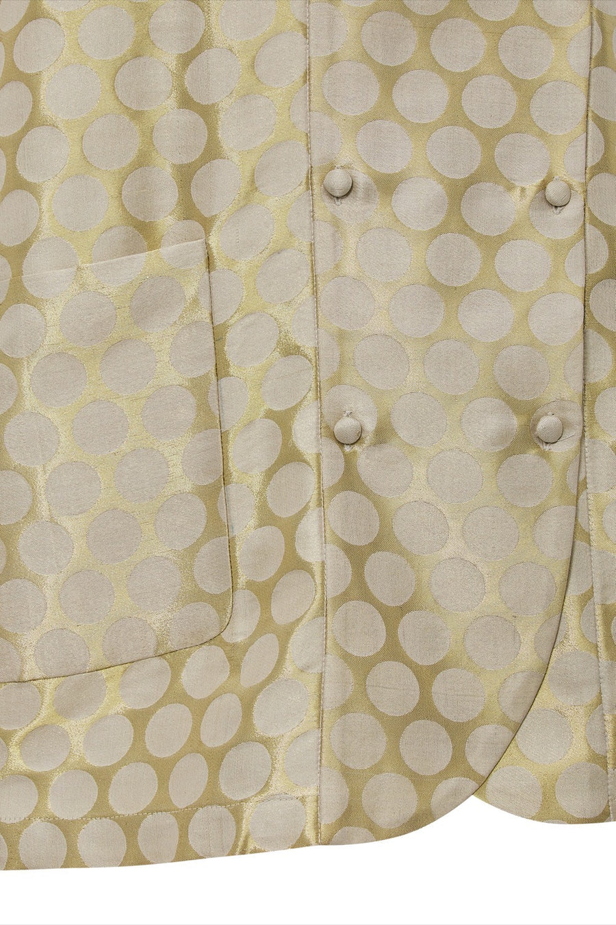 Frida Silk Dot Jacket