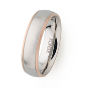 Xenox Herren Partner-Ring aus Edelstahl - Xenox and Friends X2252