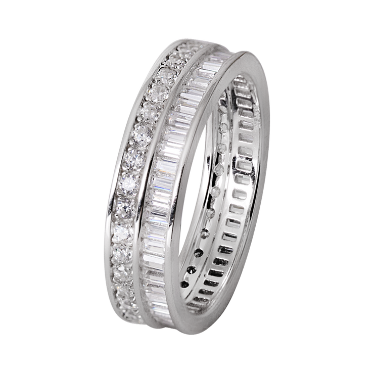 Xenox Silber Sterling 925 Damen Ring mit Zirkonia - Xenox and Friends XS9118