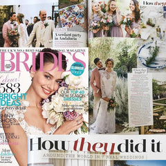 Brides UK Magazine Feature Condenaste