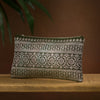 Khaki green and metallic sari brocade clutch bag. Luxury upcycled from vintage sari. Handmade sustainably