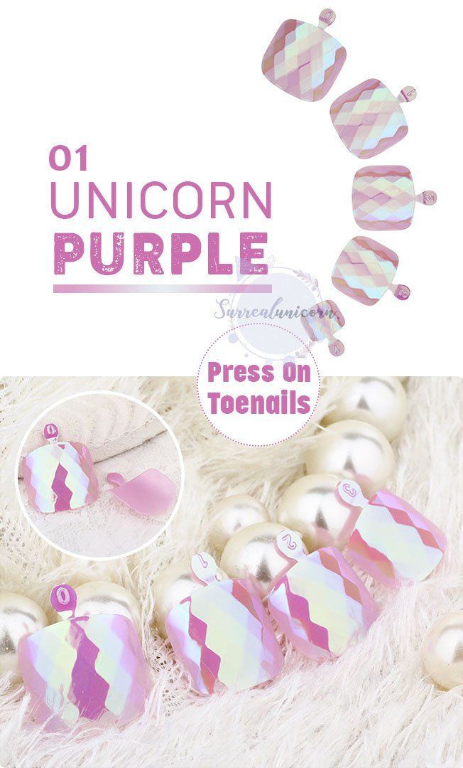 Press On Self Adhesive Mermaid Toenail Stickers