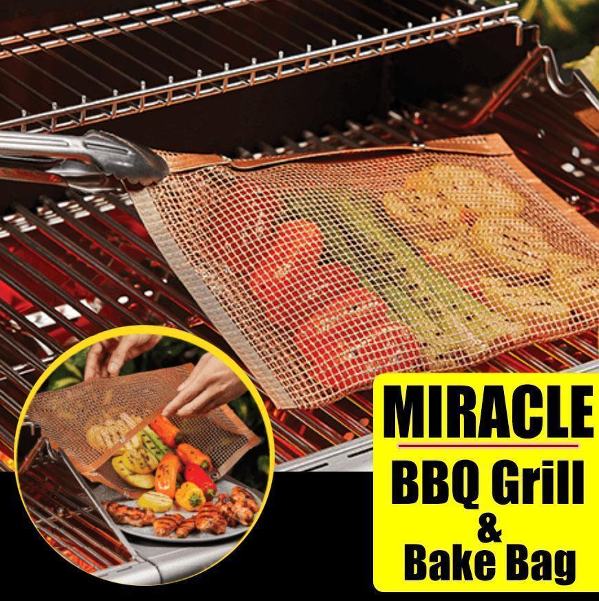 Miracle BBQ Grill & Bake Bag