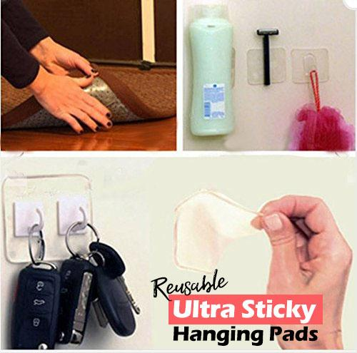 Reusable Ultra Sticky Hanging Pads (10-pc Set)